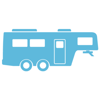 Fifth Wheel Trailer Icon